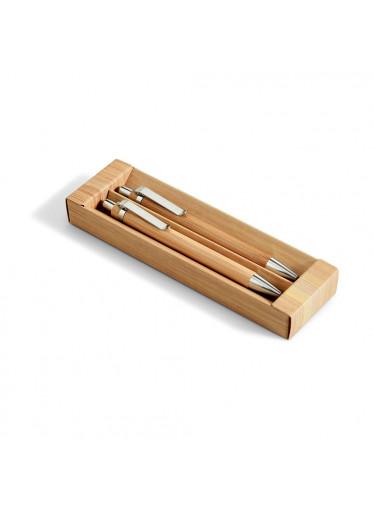 ČistéDřevo Bambusová sada propisky a mechanické tužky