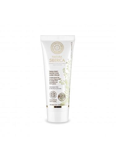 Natural & Organic Denní ochranný krém na ruce z tajgy, 75 ml