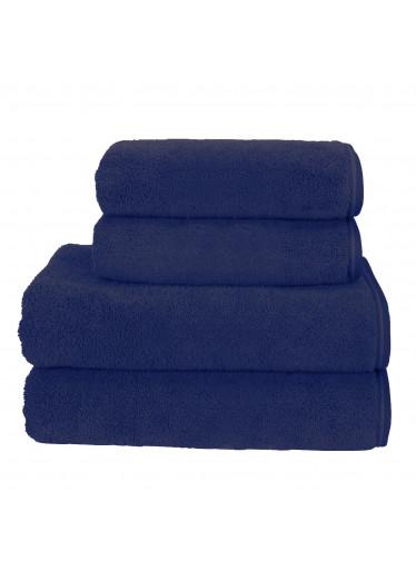 Sada 23 Dark Navy župan + osuška + ručníky