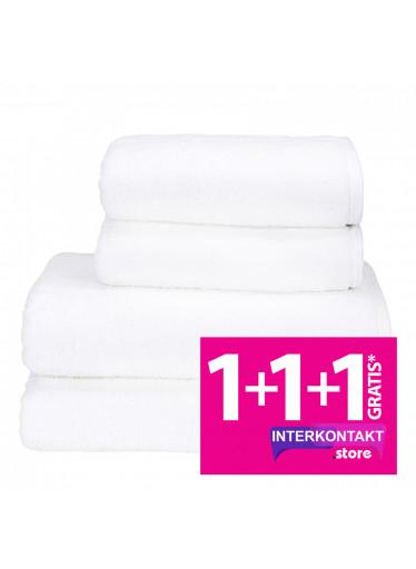Sada 02 Bianco župan + osuška + ručníky