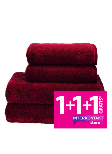 Sada 10 Bordeaux župan + osuška + ručníky