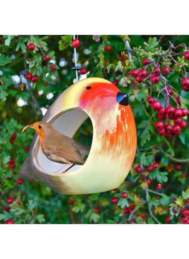 Wildlife World Krmítko pro ptáky keramické - červenka