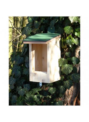Ptačí budka dřevěná 3 v 1 SRDCE