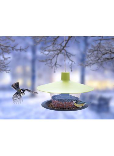 Plastia Ptačí krmítko Finch, zelené