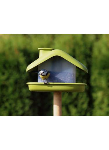 Plastia Ptačí krmítko Domek, zelené