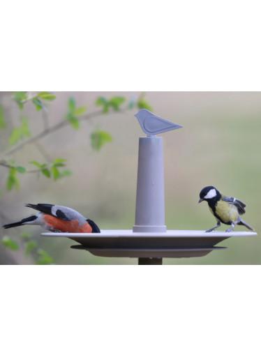 Plastia Pítko pro ptáky Finch, šedé