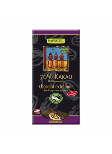 Rapunzel Čokoláda hořká 70 % BIO 80 g